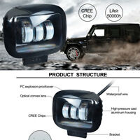 Super Bright 10800LM 72W  LED Work Lamp Fog Light 12V/24V for Car Truck SUV Boat