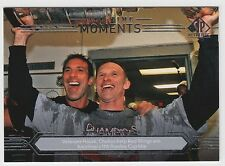 HASEK CHELIOS 2014-15 UD SP Authentic All-Time Moments #197 Red Wings N15