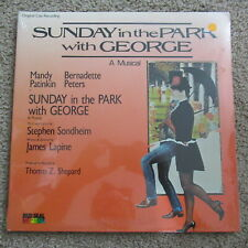 "Sunday In the Park With George SEALED 12"" LP Record Red Seal Digital 1984"
