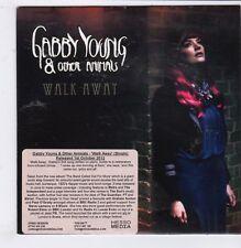 (GQ109) Gabby Young & Other Animals, Walk Away - 2012 DJ CD