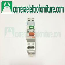 Doppio pulsante interruttore 1NO e 1NC 20A BTICINO F51NA/NC
