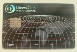 DCI Diners Club Exclusive with Big EMV chip. Authentic. Rare. Collectible