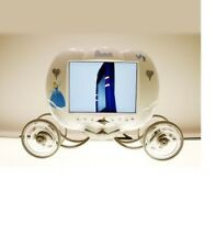 "Hannspree 9.6"" LCD TV Rare Disney's Princess Cinderella's Carriage"
