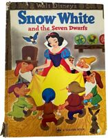Vintage WALT DISNEY'S SNOW WHITE And The Seven Dwarfs Golden Book 1980