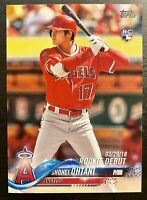 2018 Topps Update #US285 Shohei Ohtani RD RC Rookie Debut Los Angeles Angels