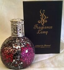 ASHLEIGH & BURWOOD SMALL SIZED VAMPIRESS MIRROR MOSAIC FRAGRANCE LAMP PFL60C