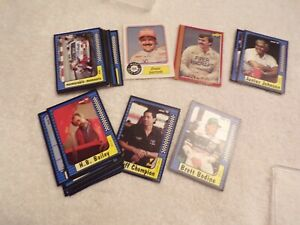 VTG Mixed Lot of Race Car Cards
