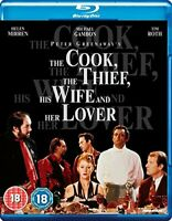 The Cook, The Thief, His Wife and Her Lover [Blu-ray] [DVD][Region 2]