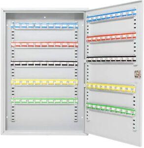 Lumberjack Large Key Cabinet 100 Hooks Wall Mounted Keys Storage Locker