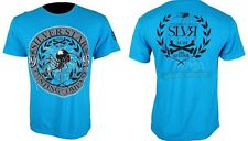Silver Star Anderson Silva UFC 117 T-shirt (blue) - Large Size