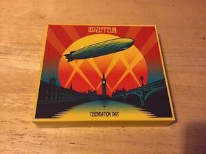 Led Zeppelin celebration day 2 cds 2 dvds box set