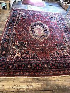 Fine Handmade PersianBijar 294x222cm /9.8x7.4