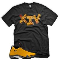 """New """"XIV"""" T Shirt for Jordan 14 XIV Yellow Ferrari Carmelo 13"""