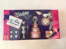 Barbie Doll Pretty Treasures Wedding Cake Bridal Accessories Set #14982
