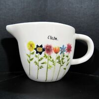 Rae Dunn Creamer Artisan Collection by Magenta Create Your Own Sunshine Flower