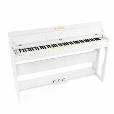 88 Weighted Hammer Lcd Digital Piano Action Electric Keyboard w/3 Pedals+H Stand