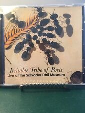 Irritable Tribe of Poets Live at The Salvador Dali  Museum CD New Rare