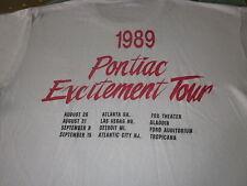 1989 Pontiac Entertainment Tour Tee Shirt 80S Screen Stars Tag Xl