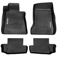 Oedro Floor Mats Liners Fit for 2016-2020 Chevrolet Camaro Unique Tpe F&R