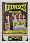 Redneck Premium Beer pub club metal tin sign vintage wall decor