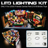 USB LED Light Lighting Kit Fit For LEGO Friends Central Perk 21319 Bricks  *