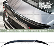 FITS 2018-2020 HONDA ACCORD AKASAKA CRYSTAL BLACK PEARL REAR TRUNK SPOILER LID