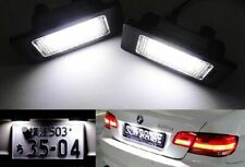 2x Error Free LED License Plate Light Kit 63267165735 Replacement For BMW