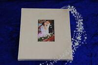 Gästebuch Hochzeit 21 x 24 cm Taufe Kommunion Blancobuch Notizbuch Wechselbild