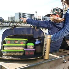 Mealami Navy Meal Prep Handbag | Management Laptop Bag Travel Gym