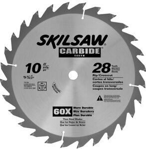"SKIL 75128 Carbide-Tipped 28-Tooth Circular Saw Blade, 10"""
