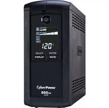 CyberPower Intelligent LCD CP850AVRLCD 850 VA/510W 9 x 5-15R Mini-Tower UPS