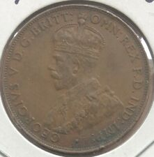1936 ~ COMMONWEALTH OF AUSTRALIA ~ 1 PENNY ~ GEORGE V ~ EF45 Condition