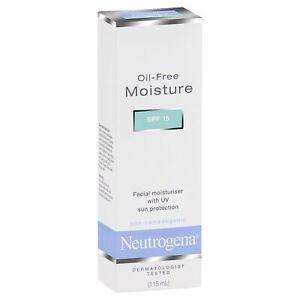 Neutrogena Oil Free Facial Moisturiser With UV Sun Protection 115ml FreeShip
