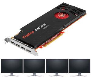 Neuware: AMD PC Profi Grafikkarte FirePro V7900 für 4x Monitore in 4K Auflösung