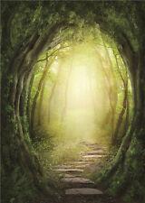 Fantasy Scenic Photography Backdrops Vinyl Tree Photo  Backgrounds Child 5x7ft