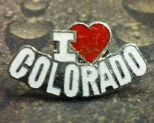 I Love COLORADO pin badge