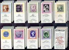 Trade Card Set, Twinings Tea, RARE STAMPS, 2nd Series, 1961