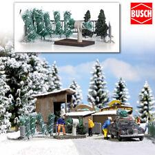 BUSCH 1182 H0 Weihnachtsbaumverkauf ++ NEU & OVP ++