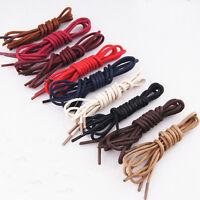 2 Achetés 1 gratuit,Paire de Lacet Rond Cordon Coton Ciré Chaussure Bottes 2.2mm