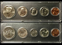 1974 Year Coin Set Half Quarter Dime Nickel Cent in a Whitman Holder