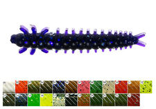 "10 leurres souples Pupa 1,5"" PERCH'IK 40mm  pêche streetfishing perche chevesne"