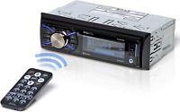 BOSS 632UAB Single 1 Din Bluetooth MP3/USB/SD AM/FM Car Stereo Detachable Face