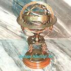 Antique Style Huge World Globe Armillary Home Decorative Item Gift