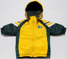 Green Bay Packers NFL Reversible Insulated Winter Jacket Infants Size 18 Months