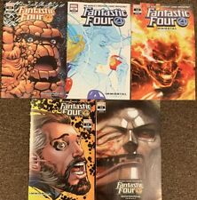 5 Fantastic Four #14 Immortal Variant Lot Reed Sue Dr. Doom Torch Thing Marvel