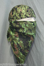Canadian Digital Cadpat Camo Head Wrap & Square Bandana
