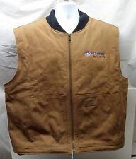 Mens polaris vest  sz XL  canvas zippered insulated  Thinsulate  Cabela's rare