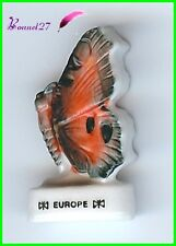 """Feve Collection Edition Atlas Papillon Butterfly """" Le Europe """" #D22"""