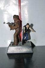 2002 Chewbacca Han Solo MINI Diorama Tomy Star Wars