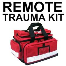 FILLED Trauma REMOTE AREA First Aid KIT Paramedic Style Professional  EMERGENCY